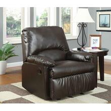 See Details - Casual Brown Glider Recliner