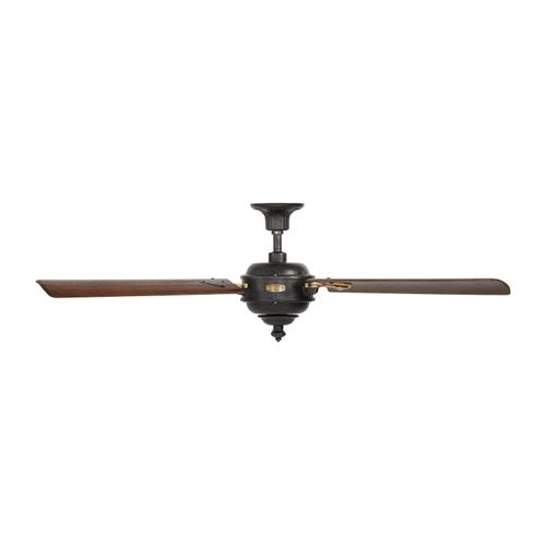 """60"""" Arezzo - Antique Iron with Hand-Rubbed Antique Brass"""