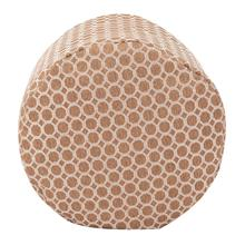 See Details - Tall Pouf Pyth Gold