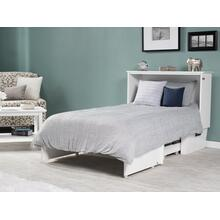 See Details - Madison Murphy Bed Chest Twin White with Charging Station