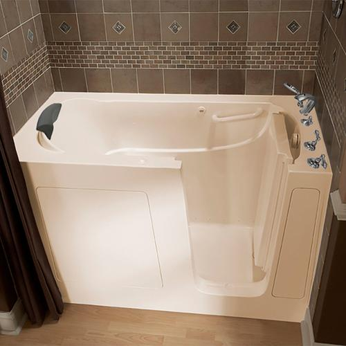American Standard - Premium Series 30x60-inch Walk-In Tub with Air Spa System  American Standard - Linen