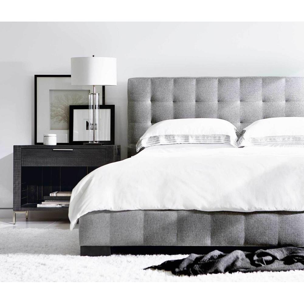 Queen LaSalle Upholstered Bed in Cinder