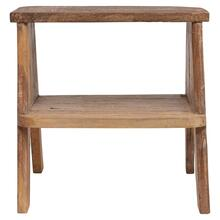 """Product Image - 20""""W x 17""""D x 19""""H Reclaimed Wood Step Stool/Side Table"""