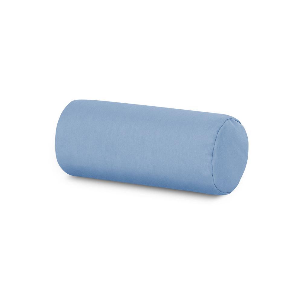 Air Blue Outdoor Bolster Pillow