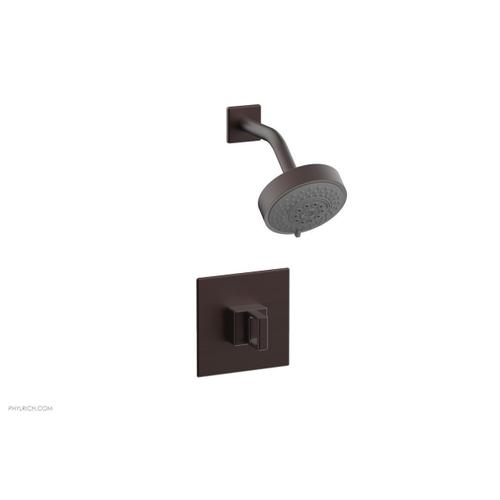 MIX Pressure Balance Shower Set - Ring Handle 290-23 - Weathered Copper