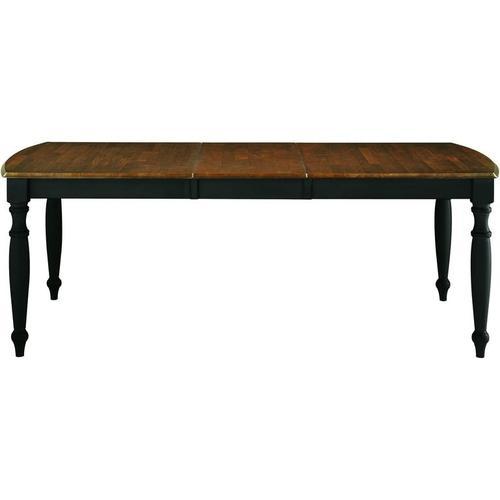 Gallery - Extension Leg Table in Espresso & Aged Ebony