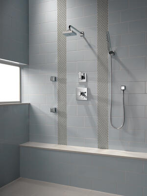 "Chrome Shower Arm - 16"" Product Image"