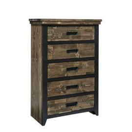 Chest - Honey \u0026 Black Finish