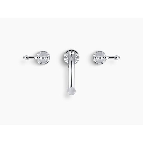 Oil-rubbed Bronze Widespread Bathroom Sink Faucet