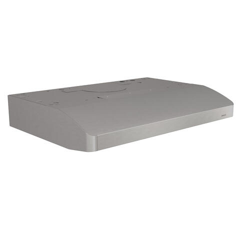 Broan - Broan® 30-Inch Convertible Under-Cabinet Range Hood, 250 CFM, Stainless Steel
