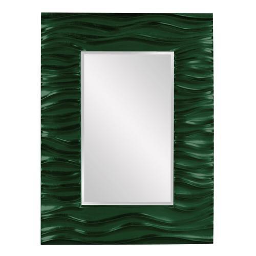 Howard Elliott - Zenith Mirror - Glossy Hunter Green