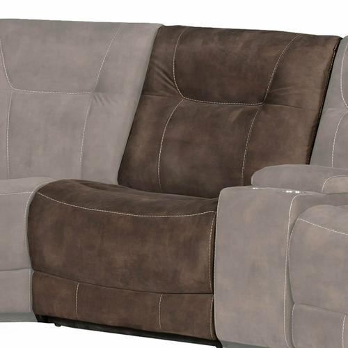 COOPER - SHADOW BROWN Manual Armless Recliner