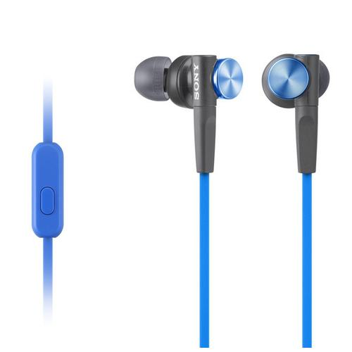 Sony - Wired In-ear EXTRA BASS™ Headphones - Blue