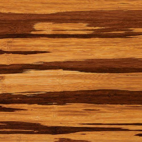 Greenington Fine Bamboo Furniture - Azara Eastern King Platform Bed, Caramelized