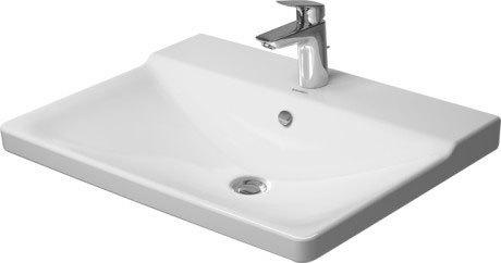 P3 Comforts Furniture Washbasin 1 Faucet Hole Punched