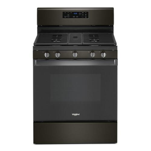 Product Image - 5.0 cu. ft. Whirlpool® gas range with center oval burner