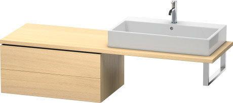Low Cabinet For Console, Mediterranean Oak (real Wood Veneer)