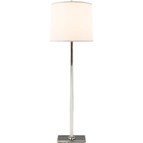 Barbara Barry Petal 58 inch 150 watt Soft Silver Decorative Floor Lamp Portable Light