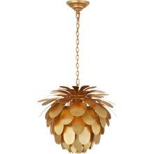 View Product - E. F. Chapman Cynara 1 Light 17 inch Gild Chandelier Ceiling Light, Small