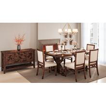 "Fairview 78"" Dining 4pc W/ Bench"