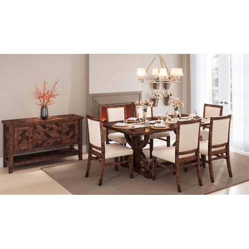 Fairview Oak Side Chair (2/ctn)