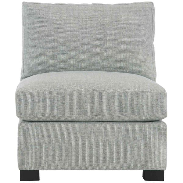 See Details - Kelsey Armless Chair in Mocha (751)
