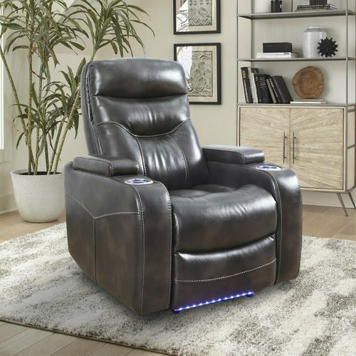See Details - ORIGIN POWER - TRUFFLE Power Home Theater Recliner