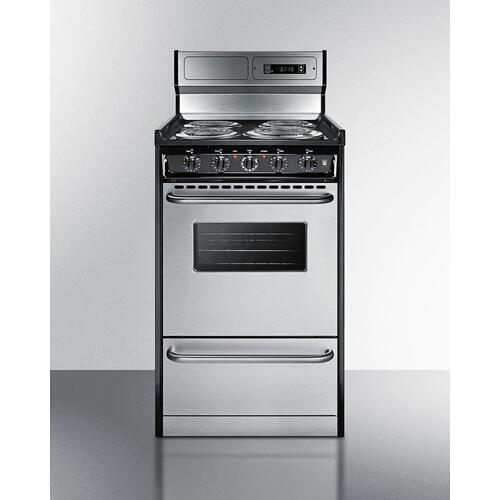 """Gallery - 20"""" Wide Electric Coil Range"""
