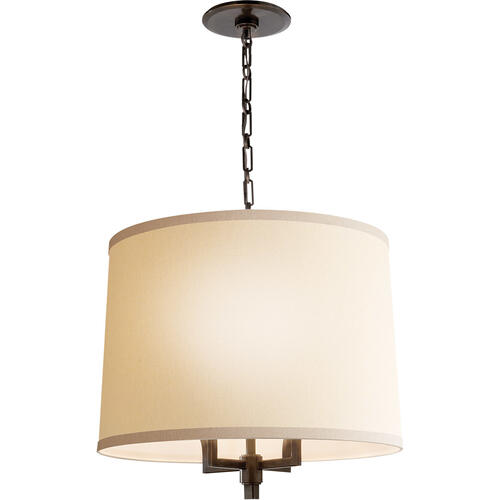 Visual Comfort - Barbara Barry Westport 4 Light 23 inch Bronze Hanging Shade Ceiling Light