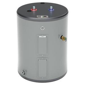 GE® 26 Gallon Top Port Lowboy Electric Water Heater Product Image