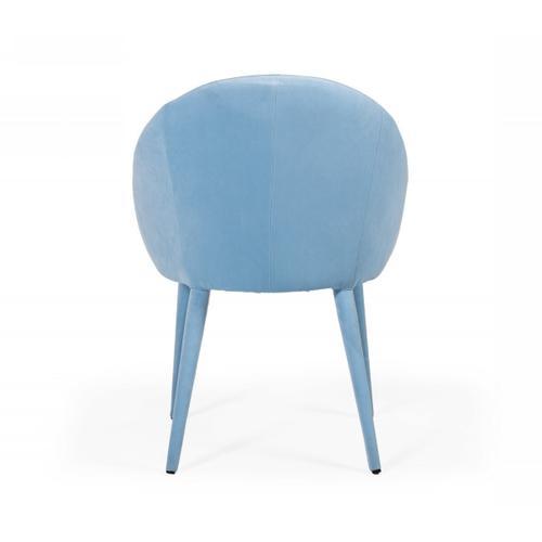 VIG Furniture - Modrest Sanders - Modern Blue Dining Chair