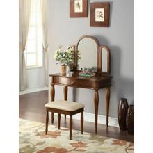 ACME Burke Vanity Set - 90206 - Dark Hazelnut