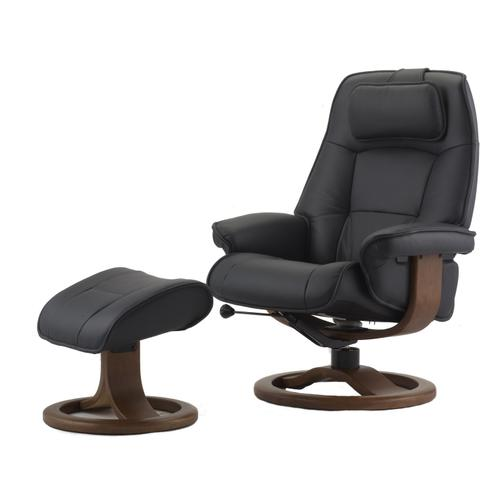 Admiral R Manual Large Recliner With Footstool