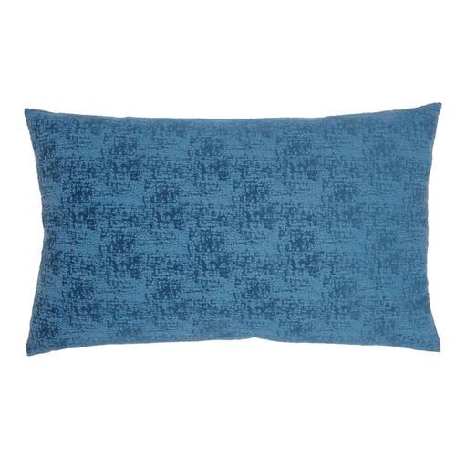 "Life Styles Et438 Navy 14"" X 24"" Throw Pillow"