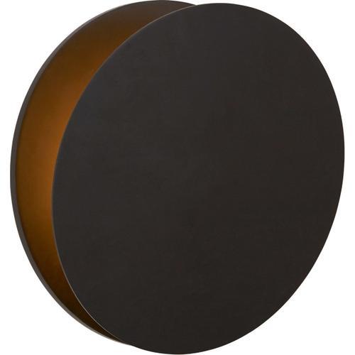 AERIN Gabriela LED 12 inch Aged Iron Round Wall Washer Wall Light