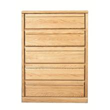 See Details - Forest Designs Bullnose Golden Five Drawer Chest: 34W x 48H x 18D