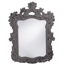 View Product - Turner Mirror - Glossy Charcoal