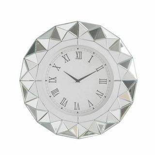 ACME Nyoka Wall Clock - 97046 - Mirrored