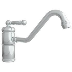 Polished Nickel - Natural Single Handle Kitchen Faucet
