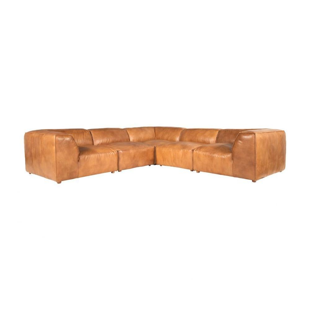 Luxe Classic L Modular Sectional Tan