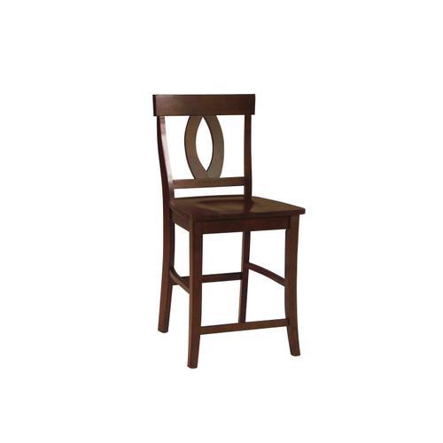 John Thomas Furniture - Verona Stool in Espresso