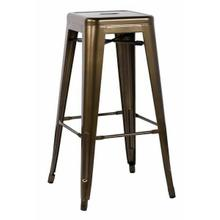 "ACME Kiara Bar Stool (Set-2) - 96252 - Bronze - 30"" Seat Height"