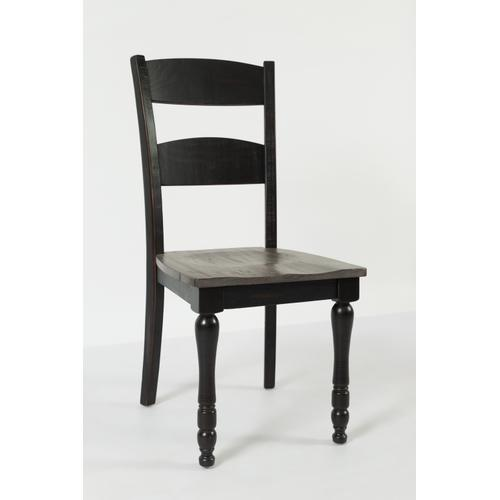 Madison County Ladderback Dining Chair Vintage Black