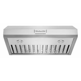 """30"""" 585 CFM Motor Class Commercial-Style Under-Cabinet Range Hood System - Stainless Steel"""