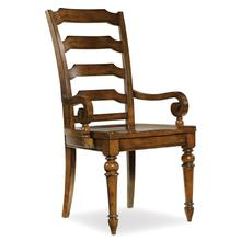View Product - Tynecastle Ladderback Arm Chair - 2 per carton/price ea