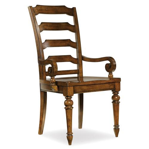 Hooker Furniture - Tynecastle Ladderback Arm Chair - 2 per carton/price ea