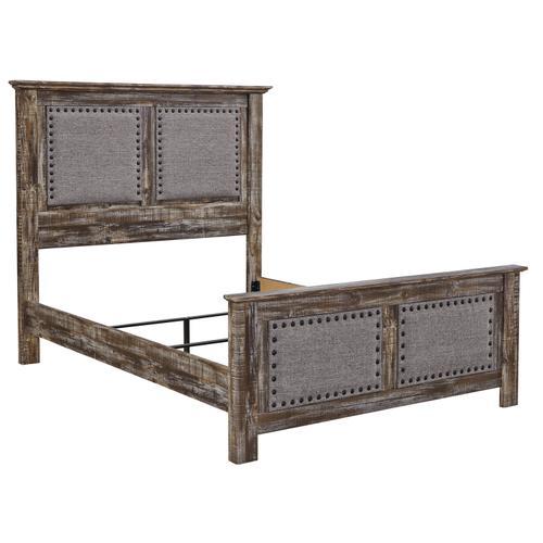 Lynnton - Rustic Brown 3 Piece Bed (Queen)