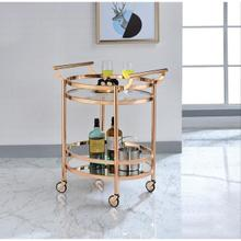 ROSE GOLD SERVING CART