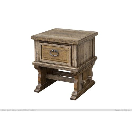 1 Drawer, End Table