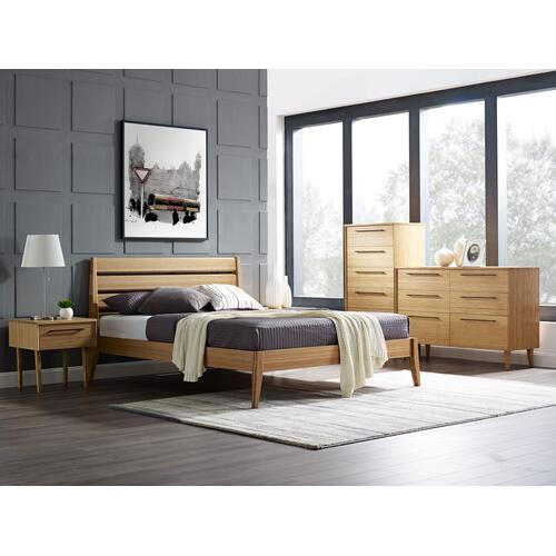 Sienna Six Drawer Dresser, Caramelized